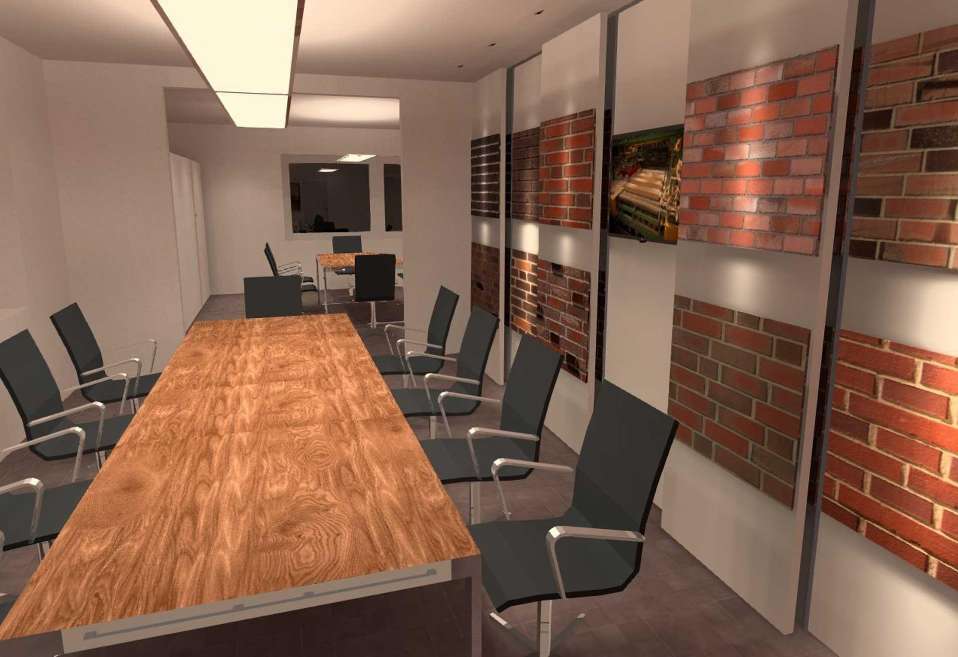 Lichtberechnung und Lichtplanung für realistische und farbechte Darstellung im Ausstellungsraum