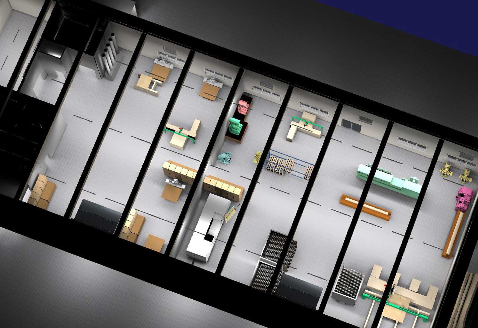 Ganzheitliches Lichtkonzept für die Produktionsstätte des Gewerbebetriebs Tischlerei Bruns