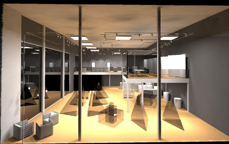 Gezielte Lichtwirkung für Exponate mit einem Lichtkonzept für Ausstellungsräume und Glasfassaden