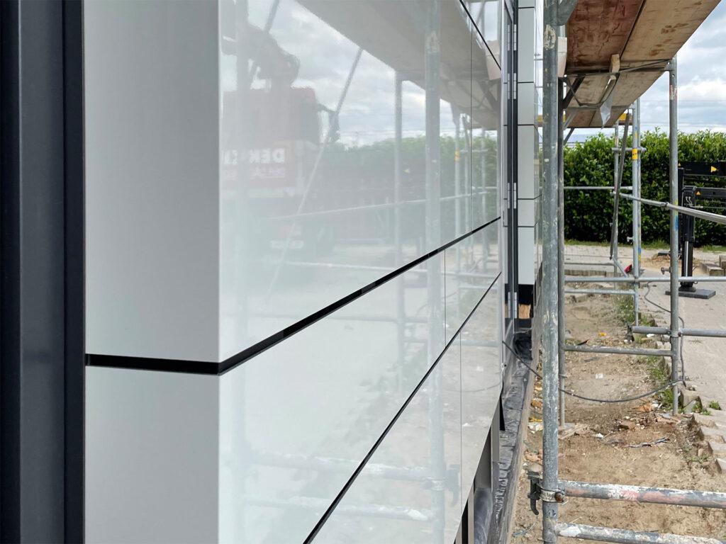 Dekker Bürogebäude - Lichtplanung Außenfassade