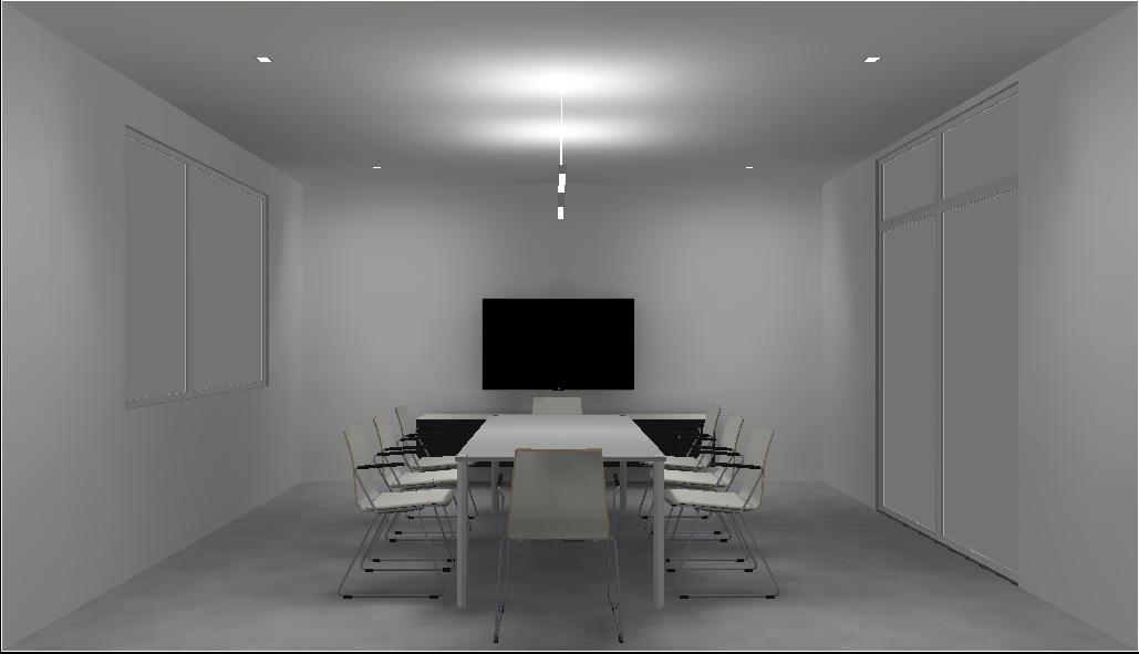 Lichtkonzept-Erarbeitung zur Innenbeleuchtung eines innovativen Bürogebäudes