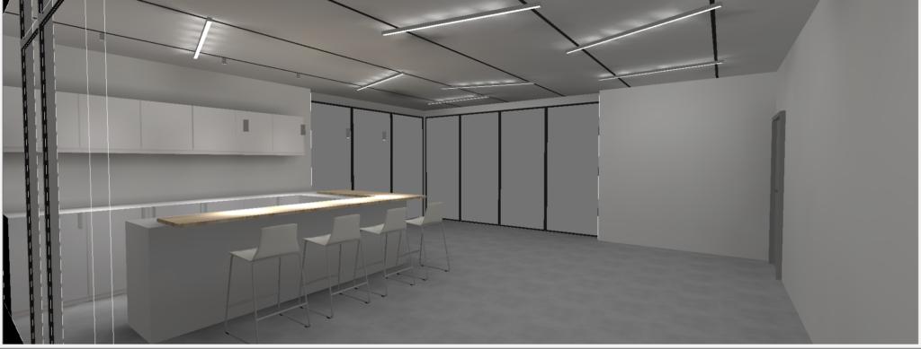 Dekker Bürogebäude - Lichtkonzeption Innenbeleuchtung